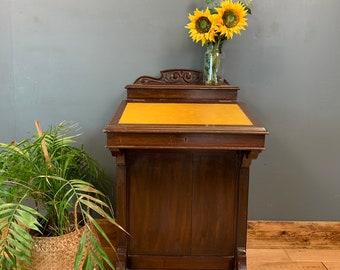 Vintage Mahogany Desk / Rustic Desk / Rustic Sideboard / Vintage Sideboard / Vintage Drawers/ Console Table