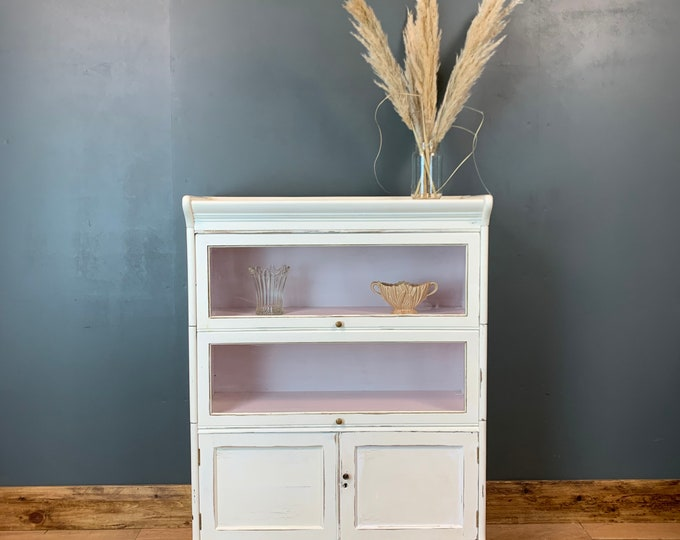 Vintage Haberdashery /Vintage Cupboard / Painted Drawers /Shabby Chic Cupboard / Bathroom Storage/ Kitchen unit / Rustic Furniture