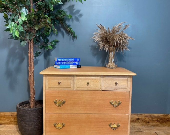 Retro Chest Of Drawers / STAG Drawers / Vintage Bedroom Drawers / Storage