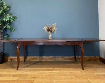 Vintage Dining Table / Mahogany Dining Table / Extending table / Pull Out Table