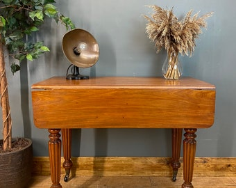 Antique Pembroke Table / Drop Leaf Table / Mahogany Sideboard / Extending Table