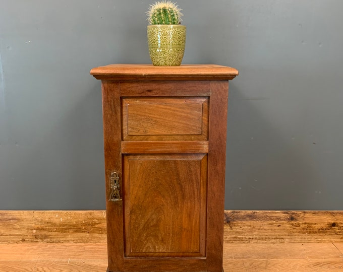 Vintage Mahogany Cabinet/ Pot Cupboard / Gin Cupboard / Lamp Table