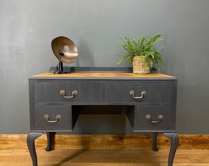 Vintage Sideboard / Painted Sideboard / Dressing Table / Vintage Desk
