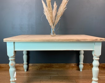 Rustic Kitchen Table / Pine Table / Vintage Table / Upcycled Dining Table / Rustic Kitchen Table / Farmhouse table