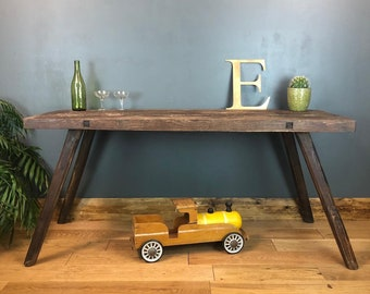 Rustic Table / Console Table / Farmhouse Table / Rustic Sideboard / Rustic Kitchen Island / Farmhouse table