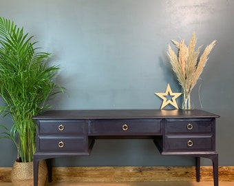 Vintage Stag Desk / Stag Dressing Table / Rustic Sideboard / Vintage Sideboard / Vintage Drawers/ Console Table
