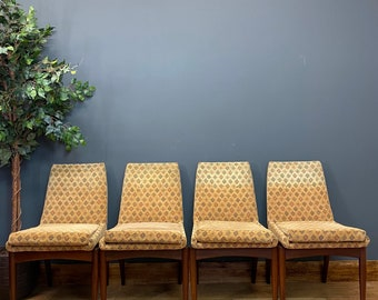 Archie Shine Dining Chairs / Robert Heritage Chairs / Mid Century Dining Chairs