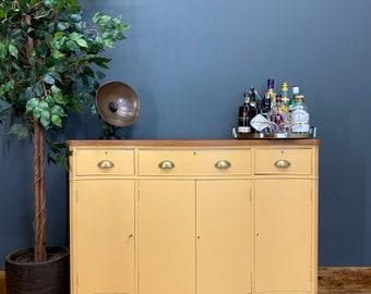 Vintage Sideboard /Drinks Cabinet /Vintage Mahogany Sideboard / Painted Cabinet