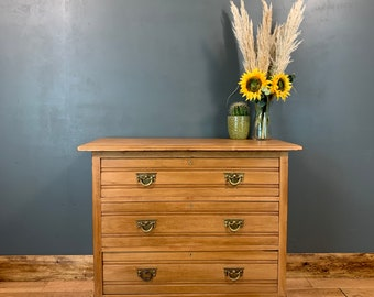 Antique Chest Of Drawers Shabby Chic Sideboard Sideboard Bedroom Satinwood