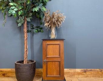 Antique Edwardian Pot Cupboard /mahogany Cabinet / Lamp Table / Bedside Unit