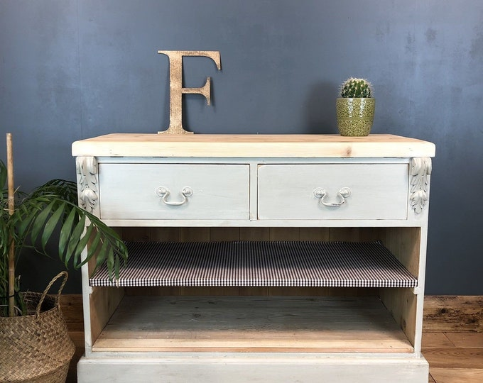 Pretty Shabby Chic Bedroom Drawers Room Rustic Vintage Painted Storage Tv Stand