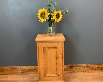 Pine Pot Cupboard / Small Pine Cupboard / Rustic Cupboard / Bedroom Storage