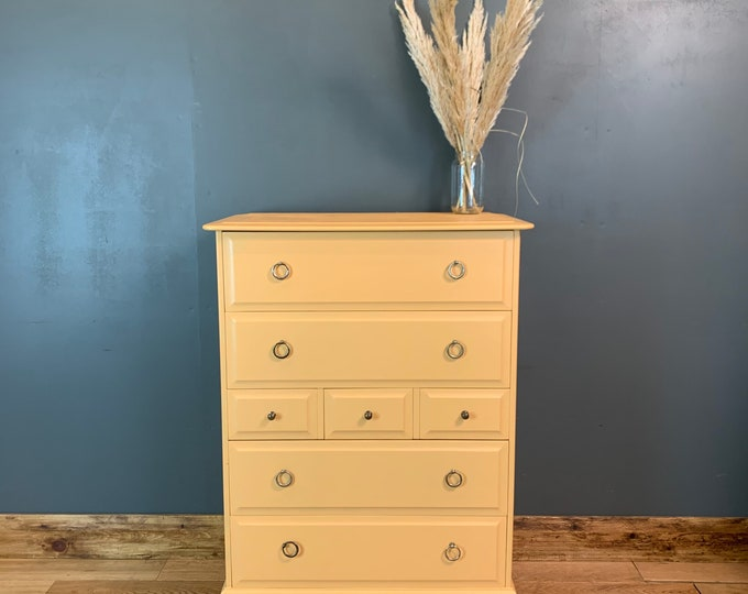 Chest Of Drawers / Painted Drawers / Made By Stag / Bedroom Storage/ Shabby Chic