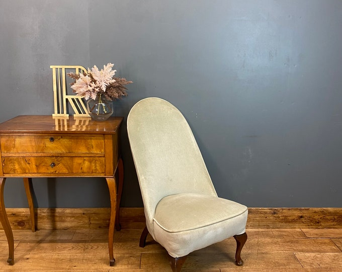 Antique Bedroom Chair  / Occasional chair  / Fireside Chair / Library / Nursing
