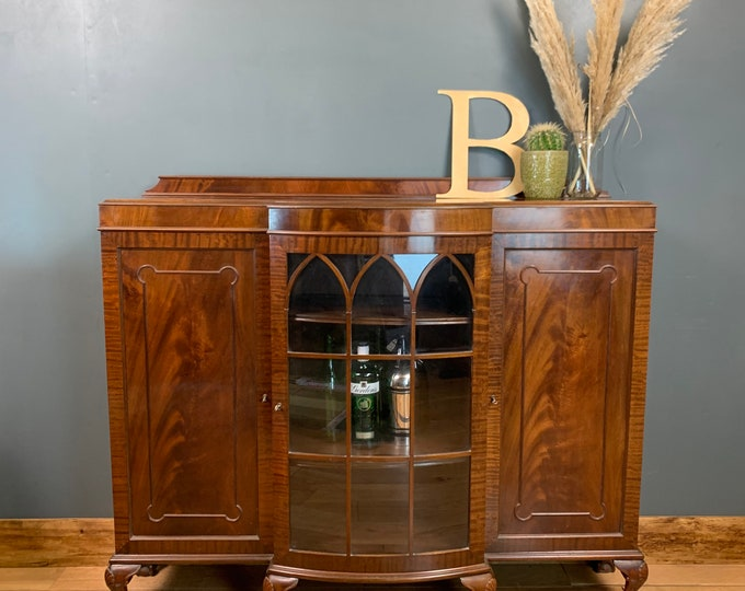 Vintage Sideboard / Mahogany Cabinet / Drinks Cabinet / Cocktail Cupboard
