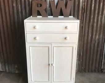 Vintage Tallboy / Painted Tallboy / Gentlemans Wardrobe / Vintage Cupboard / Painted Cupboard / bedroom Storage