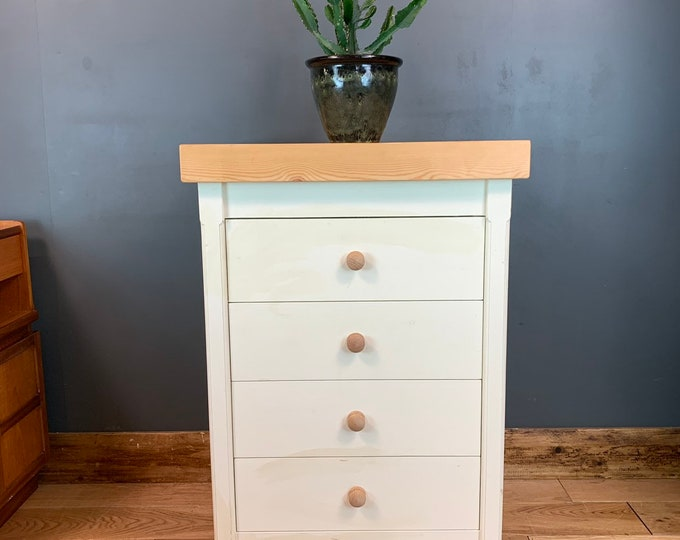 Handmade Chest Of Drawers Shabby Chic Sideboard Cabinet Painted Bedroom Storage