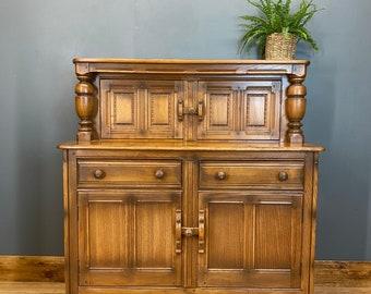 Vintage Ercol Court Cupboard / Ercol Sideboard/ Golden Dawn / Cocktail Cabinet