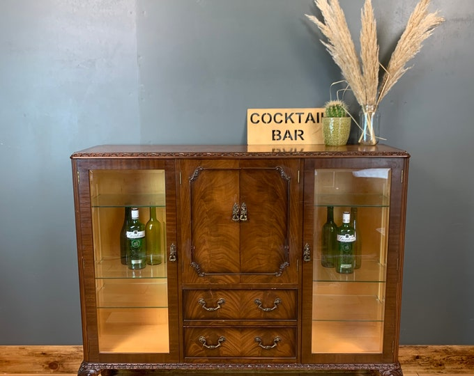 Vintage Sideboard / Drinks Cabinet / Cocktail Cupboard / Home Bar / China