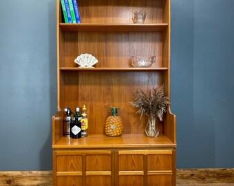 Vintage Nathan bookcase / Teak Cupboard / Mid Century Sideboard / Retro Display