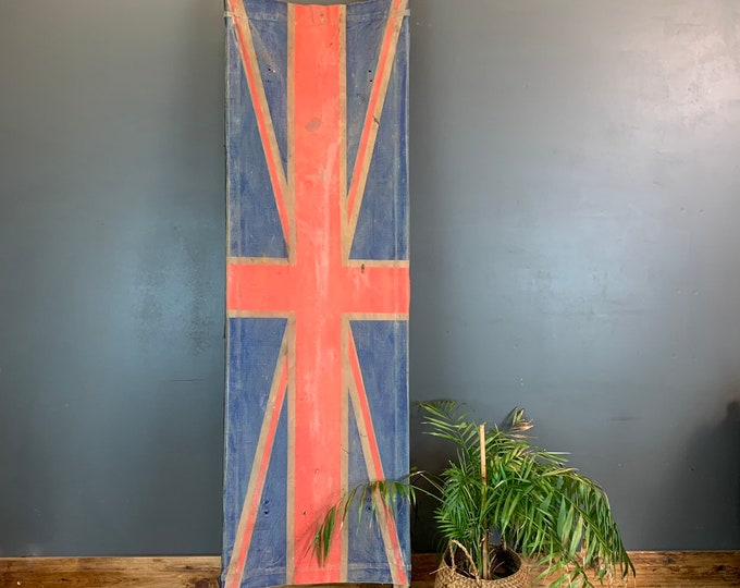 WW2 Army Field Stretcher Antique Wall Art Collectable Canvas Wood Rustic Shop