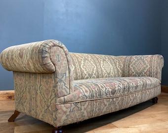 Vintage John Lewis Chesterfield sofa / John Sankey gable sofa / settee couch