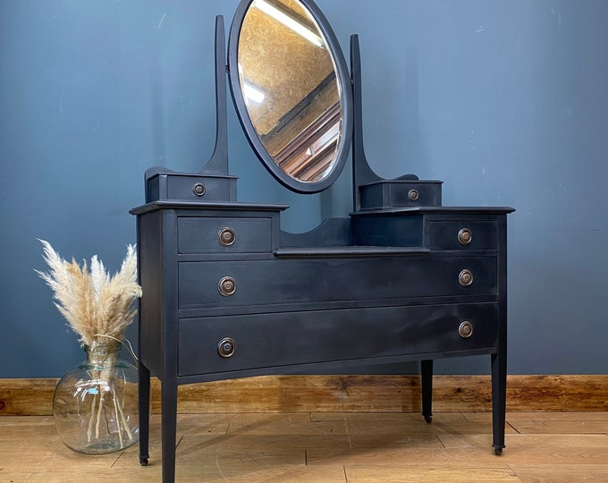 Vintage Dressing Table  / Upcycled Drawers / Vintage Bedroom Chest Of Drawers
