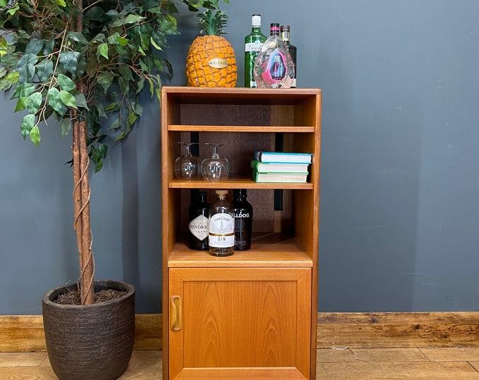 Mid Century Teak G Plan Media Cabinet / Retro Cocktail Cabinet/ LP Cupboard