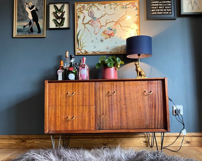 Retro Teak Sideboard / E Gomme G Plan Librenza / Drinks Cabinet / Tv Stand