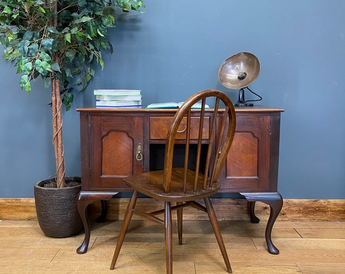 Antique Mahogany Desk / Writing Table / Mahogany Sideboard / Console / Desk