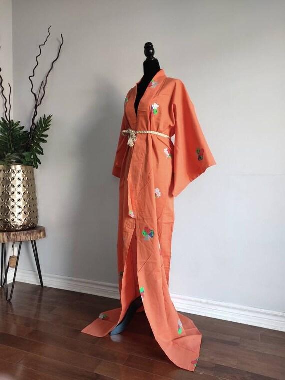 Cotton yukata Japanese kimono /kimono robe / kimon