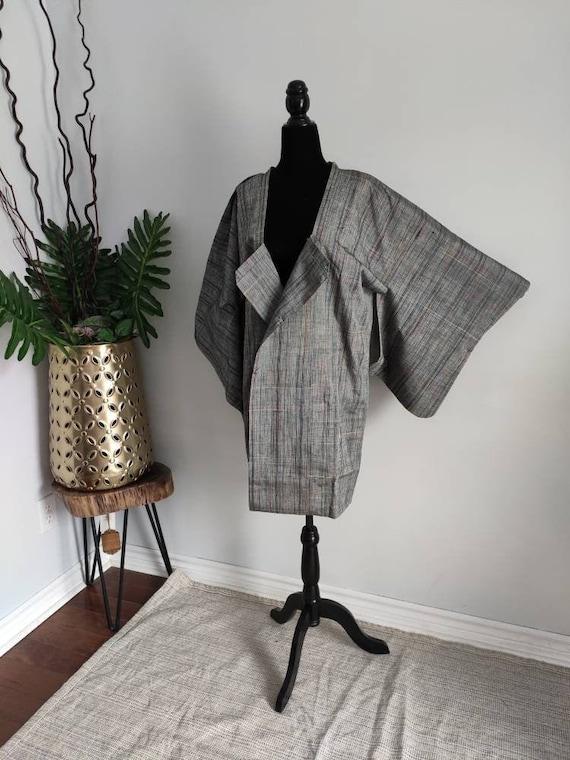 Japanese haori michiyuki kimono - kimono jacket,