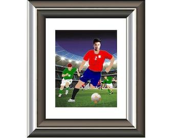 Soccer Fan Gift For Players Men Boyfriend Dad Custom Present