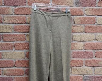 65ea0a345e2f6b Vintage VALENTINO BOUTIQUE Cashmere + Silk Trousers [size 6]