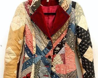 9272a13f227c Patchwork Quilt Vintage Blazer from 1970 s