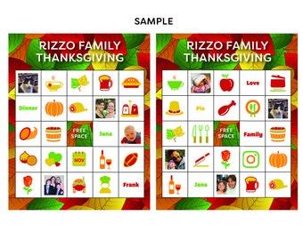 custom bingo cards etsy