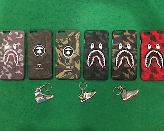 competitive price 299b5 b932a Bape iphone case   Etsy