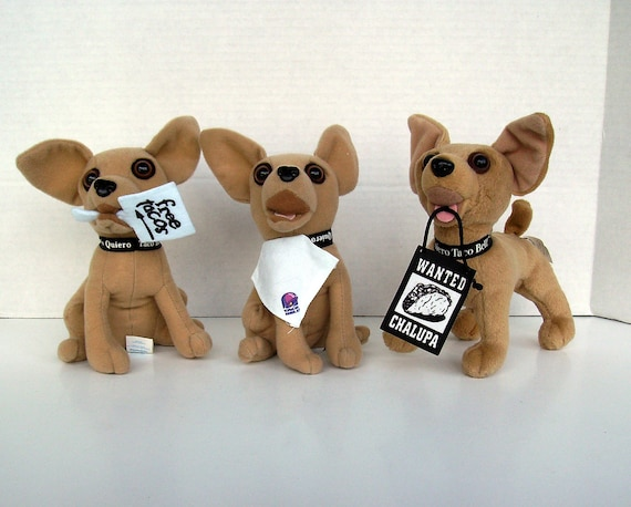 Lot of 5 Yo Quiero Taco Bell Talking Chihuahua Dogs