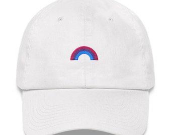 61d17f127e9 Bisexual Pride Rainbow Hat