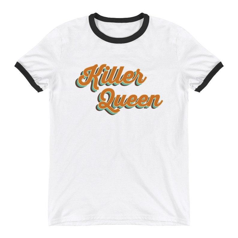 Herrenmode Are You Ready Freddie Mercury T-shirt Fanartikel & Merchandise Queen
