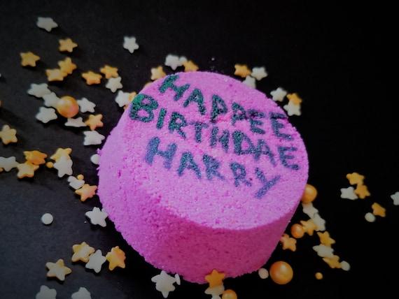 Hagrids Birthday Cake Bath Bomb Harry Potter Inspired
