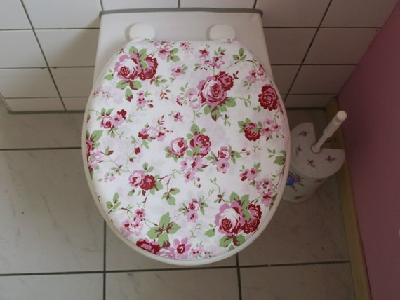 Remarkable Toilet Cover Toilet Seat Reference Cover Rosali Roses Caraccident5 Cool Chair Designs And Ideas Caraccident5Info
