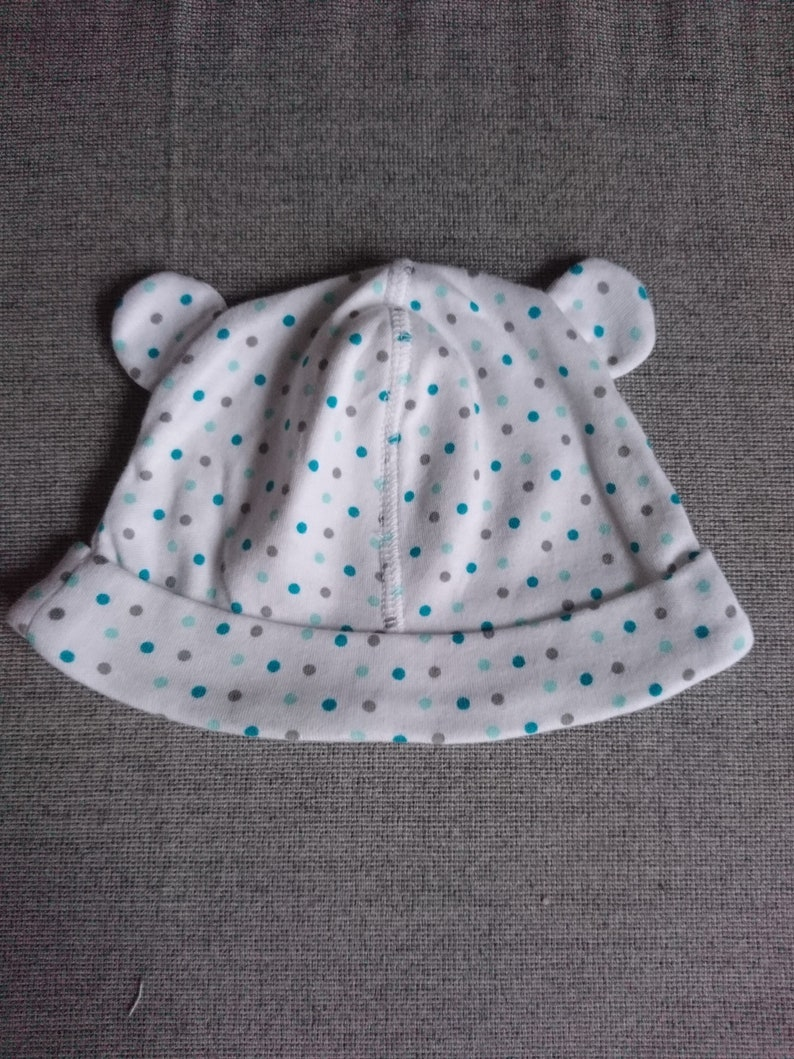 Baby cap beani newborn gr 56-68