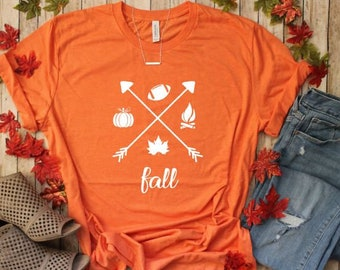 7b810661c Fall Shirts - It's Fall Y'all Shirt - Pumpkin T-shirt - Women's Fall Shirts  - Autumn T-shirt - Fall Graphic Tees - Plus Size Available
