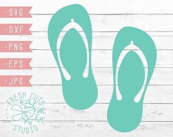 779bf6d10 Flip Flop Sandal Design SVG