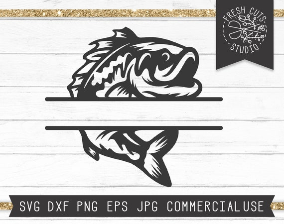 Download Fishing Monogram Fish Monogram Frame Dxf Png Fishing Svg Fish And Hook Svg Name Frame Svg Fishing Split Frame Svg Cut File For Cricut Paper Party Kids Craft Supplies Tools