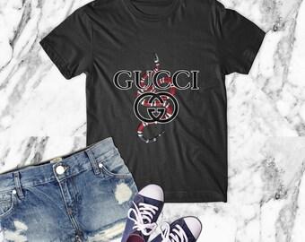 e880f691f6 Gucci t shirt | Etsy