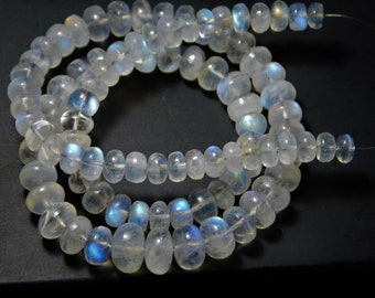 Rainbow  Moonstone stick beads,AAA quality Rainbow Moonstone rectangle stick beads,Moonstone briolettes Beads,17-40 mm,8 Inches Strand