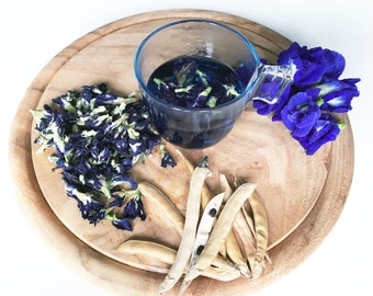 Pure Dried Butterfly Pea Flower Natural Food Coloring (1KG.)