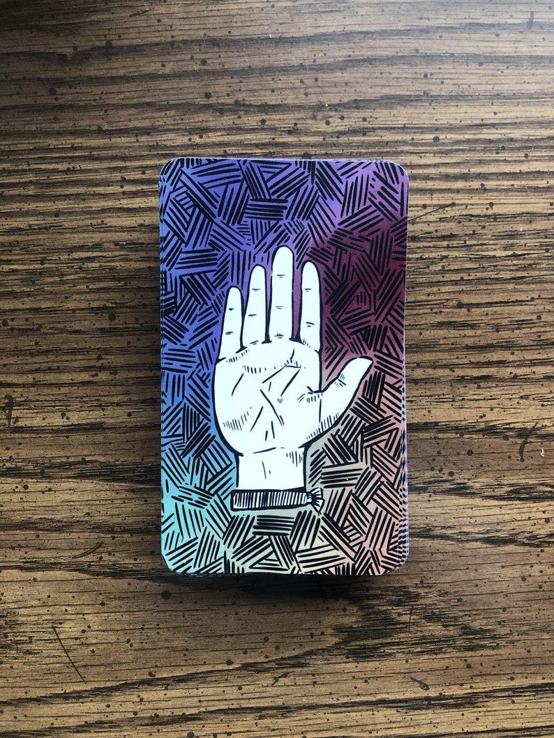 Spark and Pen Tarot Deck 78 Card Gift Set Original Artwork image 0